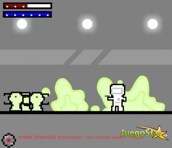 Juego  astronauta alien