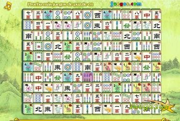 Juego Mahjong Chino