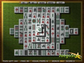 Juego 3D Mahjong