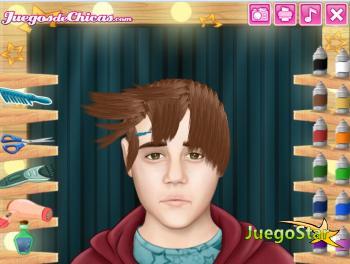 Juego Cortes de pelo reales: Justin Bieber