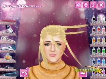 Juego Peinados reales: Hannah Montana