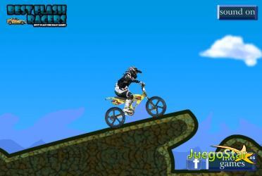 Juego Conducir una bicicleta por las montañas