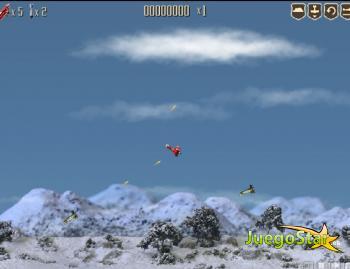Juego  El avión rojo temido