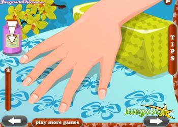 Juego Diseña uñas con onda