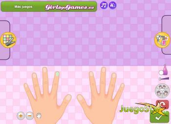 Juego Increíble salón de uñas