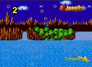 Juego  Sonic saltando