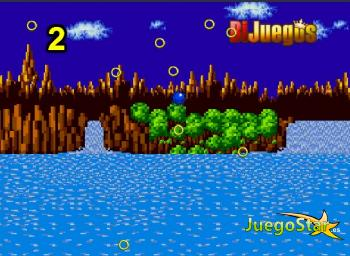 Sonic saltando