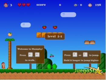Juego El mundo de Mario con platanos