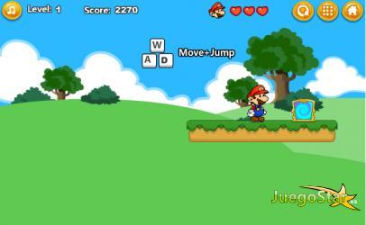 Juego Mario en el bosque