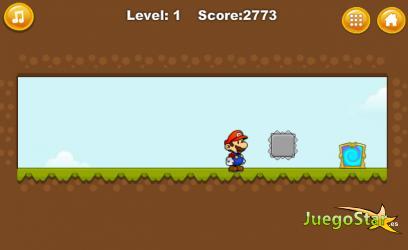 Juego  El nuevo mundo de Mario