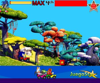 Juego  Carreras de Sonic