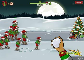 Juego Una Navidad llena de Zombies