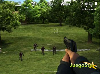 Juego  El ataque de los zombies