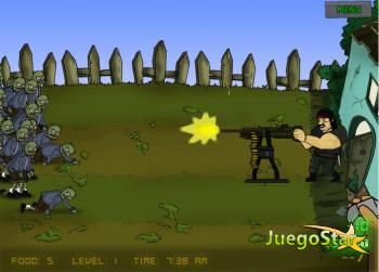 Juego Los zombies del amanecer