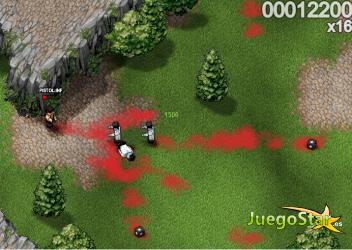 Juego  Persecución de Zombies