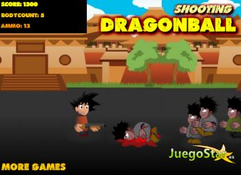Juego  Dragonball Zombie