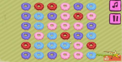 Juego Donuts juego de emparejar donuts