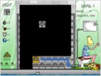 Juego  tetris cagon