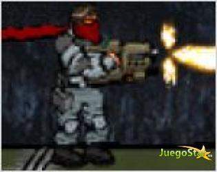 Juego atomica warrior