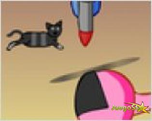Juego  el gato saltarin