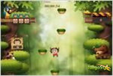 Juego jumping monkey mono saltarin