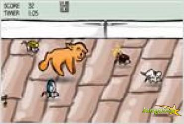 Juego  kitty kitty hi hi gatito atrapa ratones