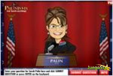 Juego  palinisms ask sarah anything entrvista a sarah palin