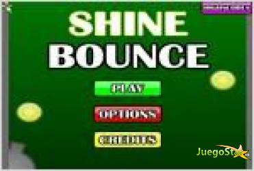 Juego  shine bounce dispara a la bola