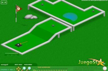 Juego  minigolf para golfistas