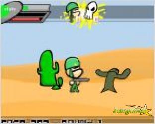 Juego  soldado peleon