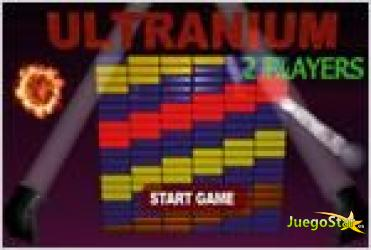 Juego  ultranium version moderna del arkanoid