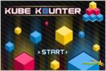 Juego  kube kounter descubriendo cubos
