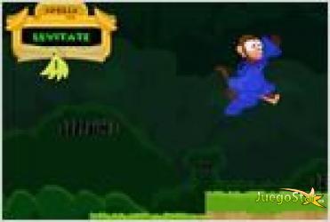 Juego  monkey wizard mono mago