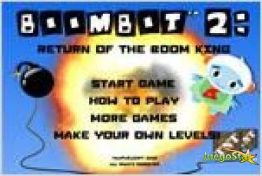 Juego  boombot 2 explosion robot 2