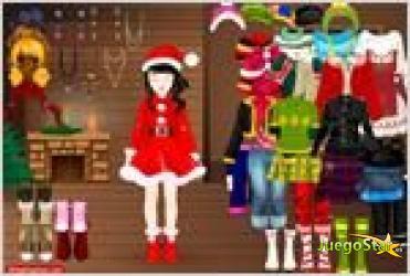 Juego  bliinky christmas dressup viste a bliinky para navidad