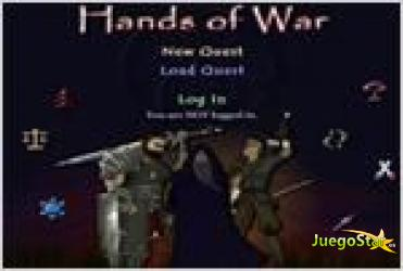 Juego  hands of war manos de guerra