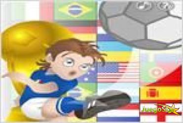 Juego  puzzle soccer world cup puzzle copa mundial de futbol