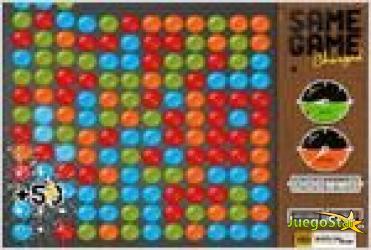 Juego  samegame charged super tetris