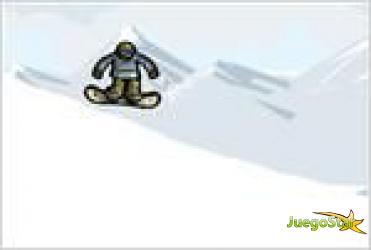 Juego  snowboard stunts acrobacias en snowboard