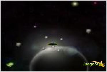 Juego  orbit shooter cazador espacial