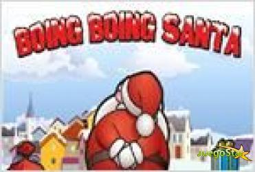 Juego  boing boing santa papa noel por el aire