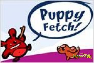 Juego  puppy fetch el perro trae el palo