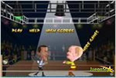 Juego  the big fight la gran lucha
