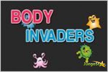 Juego  body invaders invasores del cuerpo