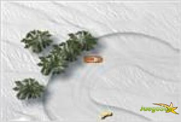 Juego snow drift racing carrera en la nieve