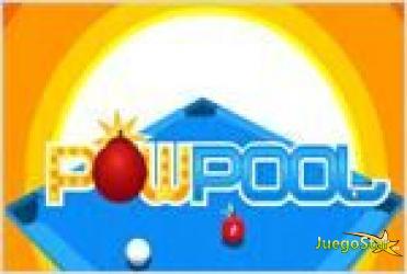 Juego  pow pool billar explosivo