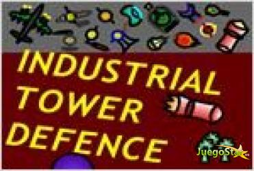 Juego  industrial tower defence torre de defensa industrial