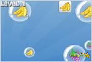Juego  super bubble pop fruit drop el juego de las frutas