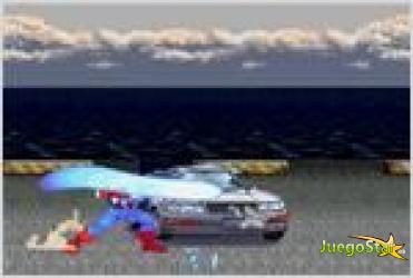 Juego  captain america car demolition capitan america demoledor de autos