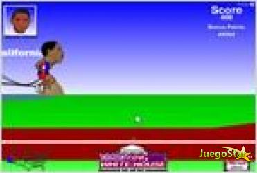Juego  race for the white house carrera por la casa blanca
